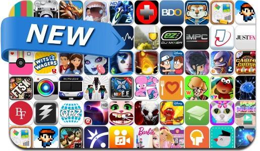 Newly Released iPhone & iPad Apps - August 2