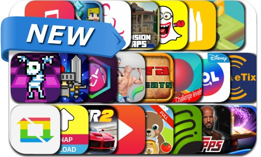 Newly Released iPhone & iPad Apps - July 1, 2016