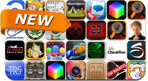 Newly Released iPhone & iPad Apps - March 31