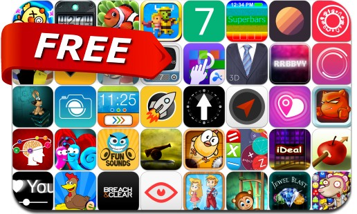 iPhone & iPad Apps Gone Free - July 18, 2014