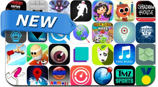 Newly Released iPhone & iPad Apps - August 19, 2016