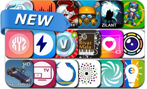 Newly Released iPhone & iPad Apps - May 21, 2018