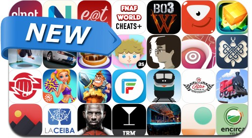 Newly Released iPhone & iPad Apps - March 4, 2016