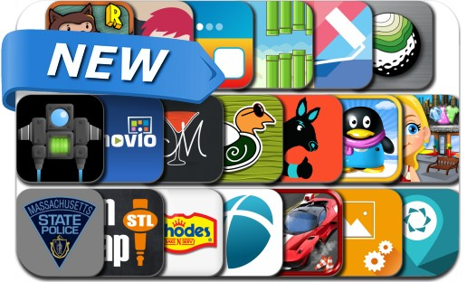 Newly Released iPhone & iPad Apps - April 7, 2014