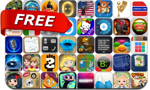 iPhone & iPad Apps Gone Free - July 25