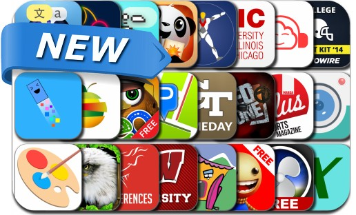 Newly Released iPhone & iPad Apps - August 21, 2014