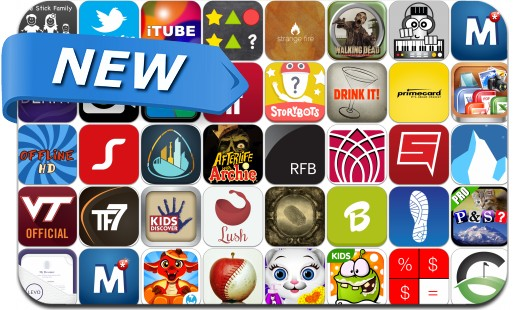 Newly Released iPhone & iPad Apps - October 12