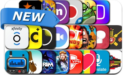 Newly Released iPhone & iPad Apps - April 7, 2017