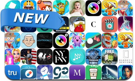 Newly Released iPhone & iPad Apps - September 11, 2015