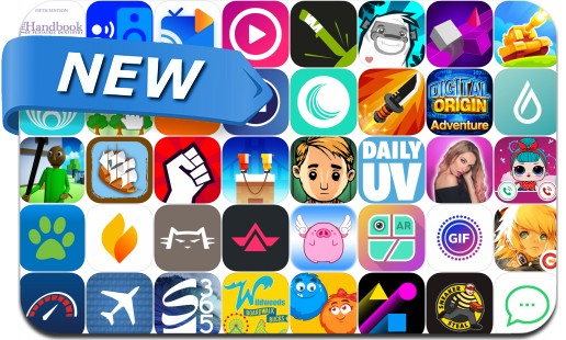 Newly Released iPhone & iPad Apps - June 4, 2018