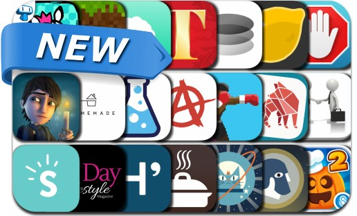 Newly Released iPhone & iPad Apps - September 26, 2015