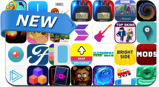 Newly Released iPhone & iPad Apps - April 30, 2016