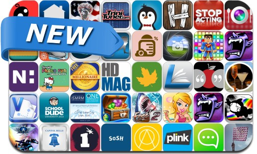 Newly Released iPhone & iPad Apps - April 18