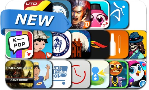 Newly Released iPhone & iPad Apps - October 24, 2015