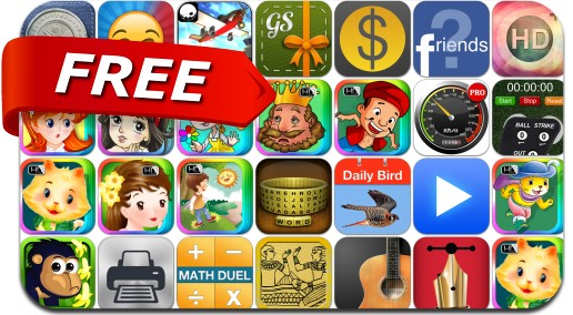 iPhone & iPad Apps Gone Free - April 13, 2014