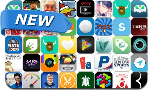 Newly Released iPhone & iPad Apps - December 5