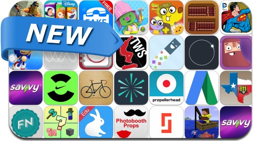 Newly Released iPhone & iPad Apps - July 11, 2014