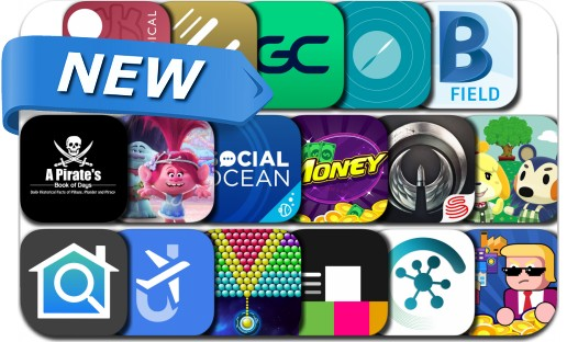 Newly Released iPhone & iPad Apps - November 22, 2017