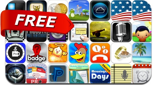 iPhone & iPad Apps Gone Free - April 1