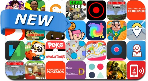 Newly Released iPhone & iPad Apps - July 22, 2016