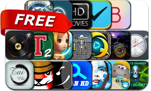 iPhone & iPad Apps Gone Free - November 5, 2016