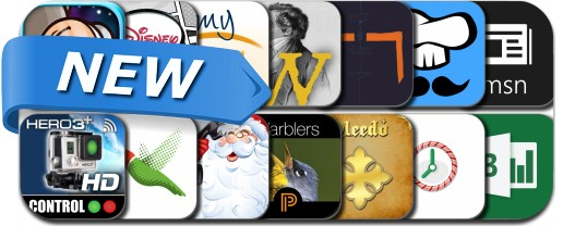 Newly Released iPhone & iPad Apps - December 22, 2014