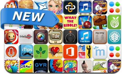 Newly Released iPhone & iPad Apps - June 15