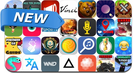 Newly Released iPhone & iPad Apps - August 13, 2016