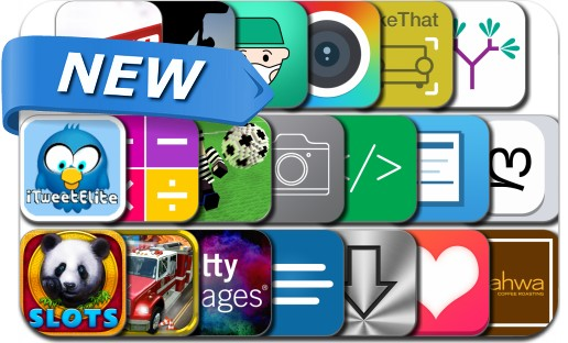 Newly Released iPhone & iPad Apps - September 22, 2014