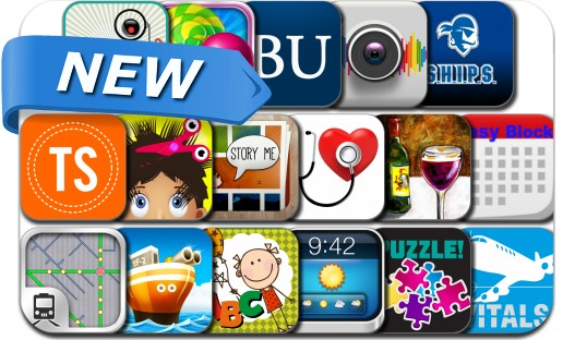 Newly Released iPhone & iPad Apps - August 25