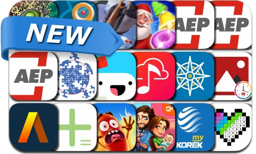 Newly Released iPhone & iPad Apps - December 14, 2017