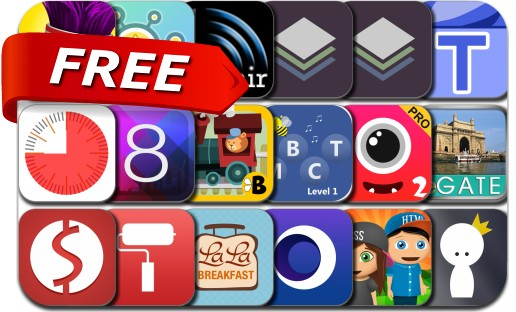 iPhone & iPad Apps Gone Free – April 18, 2015