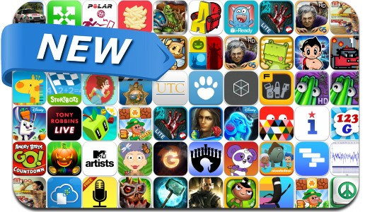 Newly Released iPhone & iPad Apps - November 1
