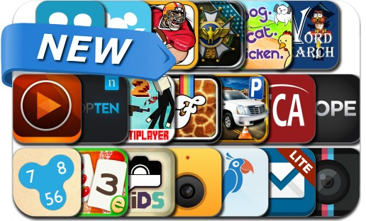 Newly Released iPhone & iPad Apps - September 16