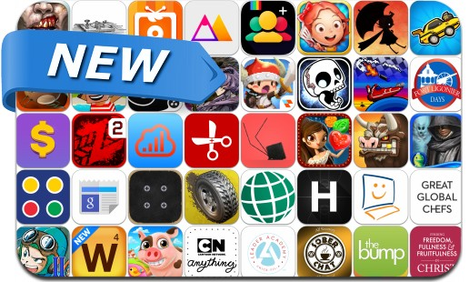 Newly Released iPhone & iPad Apps - October 10, 2014