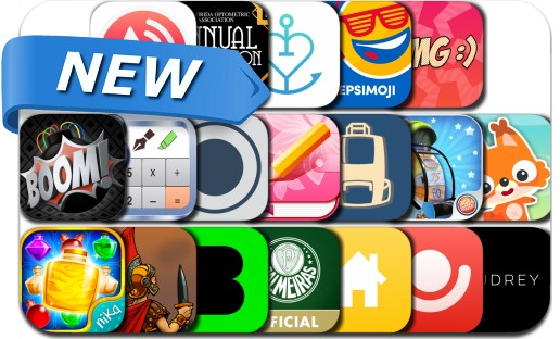 Newly Released iPhone & iPad Apps - July 18, 2015