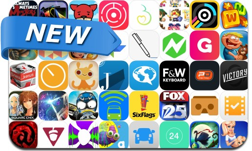Newly Released iPhone & iPad Apps - May 29, 2015