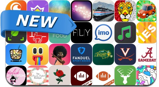 Newly Released iPhone & iPad Apps - September 3, 2018
