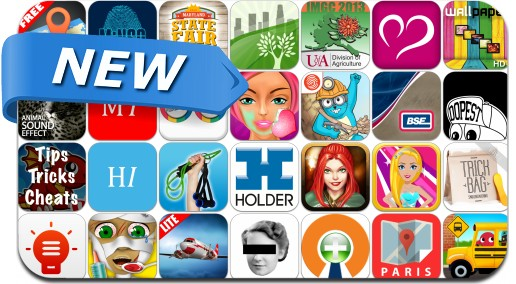 Newly Released iPhone & iPad Apps - August 24