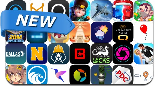Newly Released iPhone & iPad Apps - December 15, 2018