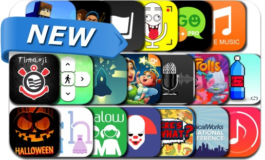 Newly Released iPhone & iPad Apps - October 22, 2016