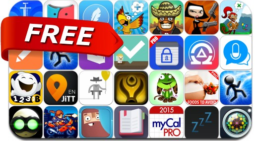 iPhone & iPad Apps Gone Free - April 17, 2015