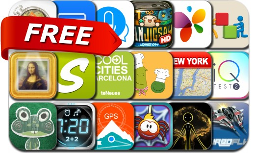 iPhone & iPad Apps Gone Free - July 30, 2014