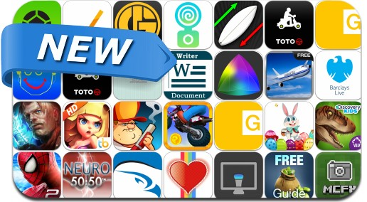 Newly Released iPhone & iPad Apps - April 19, 2014