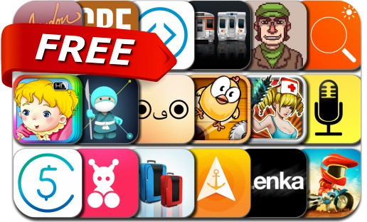 iPhone & iPad Apps Gone Free - January 16, 2015