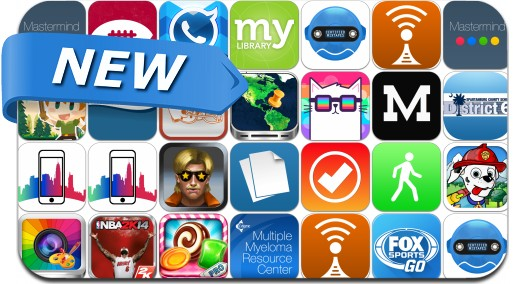 Newly Released iPhone & iPad Apps - October 2
