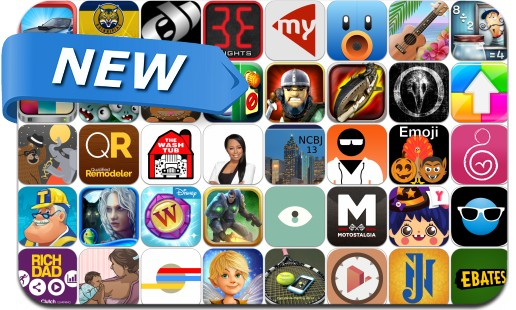 Newly Released iPhone & iPad Apps - October 25