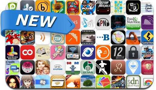 Newly Released iPhone & iPad Apps - August 28