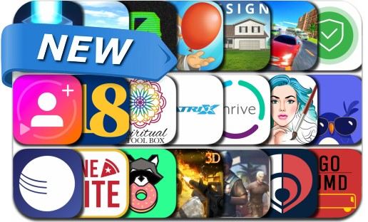 Newly Released iPhone & iPad Apps - August 29, 2018
