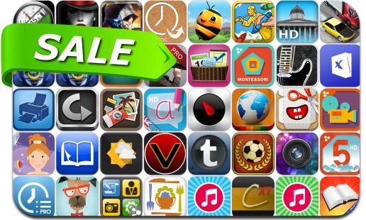 iPhone & iPad App Price Drops - July 27